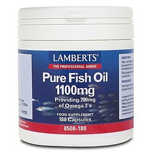 Lamberts pure fish oil 180caps