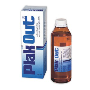 Plak out solution 0 12  250ml