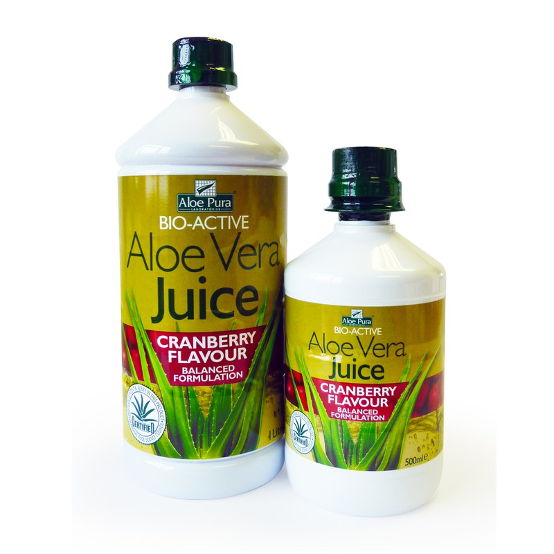 Aloe Vera Juice with Cranberry flavour
