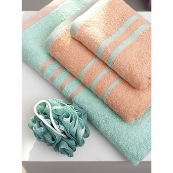 Σετ Πετσέτες (3 Τεμαχίων) Towels Collection Contrast Bubble/Mint Palamaiki