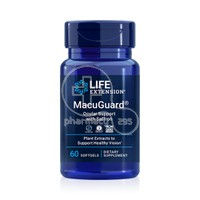 LIFE EXTENSION - MacuGuard Ocular Support - 60softgels