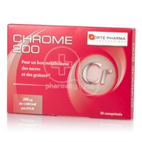 FORTE PHARMA - Chrome 200μg - 30tabs