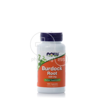 NOW - Burdock Root 430mg - 100caps