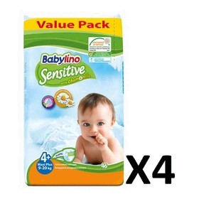 BABYLINO SENSITIVE MAXI N4+ 9-20kg 184 (=4x46) ΤΕΜΑΧΙΑ