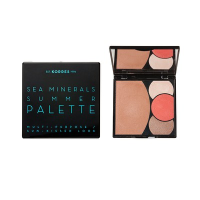 Korres - Sea Minerals Summer Palette Multi-Purpose/Sun-Kissed Look Coral Sunsets - 13gr