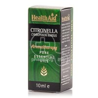 HEALTH AID - AROMATHERAPY Pure Essential Oil Citronella - 10ml