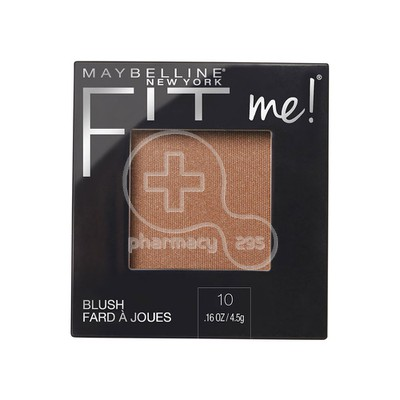 MAYBELLINE - FIT ME Blush No10 Buff - 5gr