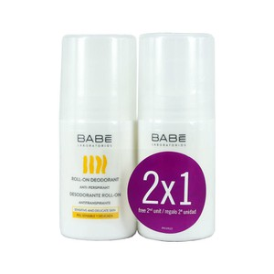 BABE Roll-on deodorant anti-respirant 50ml special promo 1+1 ΔΩΡΟ