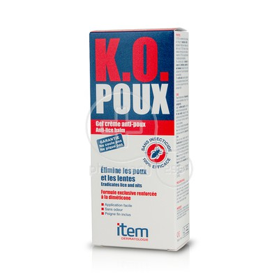 ΙΝΠΑ - ITEM K.O. Poux Gel-Creme Anti-Poux - 100ml