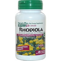 NATURE'S PLUS - HERBAL ACTIVES Rhodiola 250mg - 60caps