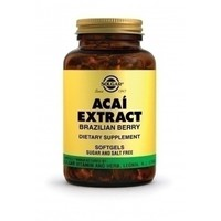 SOLGAR ACAI EXTRACT SOFTGELS 60S