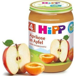 Hipp baby cream apple apricot