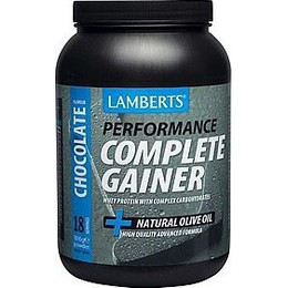 Lamberts Performance Complete Gainer Whey Protein Fine Oats, 1816g - Γεύση Σoκολάτα