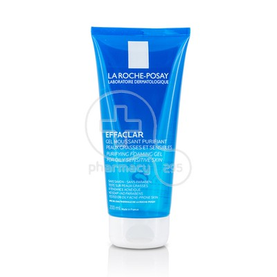 LA ROCHE-POSAY - EFFACLAR Gel Moussant Purifiante - 200ml Oily/Acne prone skin