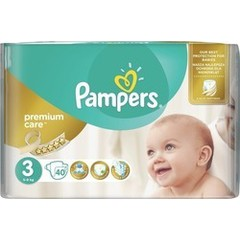 Pampers Premium Care No 3 (5-9kg) 40 τμχ