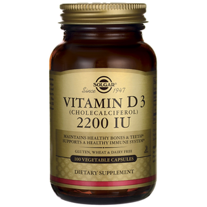 SOLGAR Vitamin D3 2200iu 100vegetable capsoules