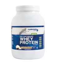MY ELEMENTS SPORTS WHEY PROTEIN POWDER VANILLA 900GR