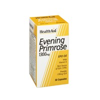 HEALTH AID EVENING PRIMROSE OIL 1300MG & VIT.E 30CAPS