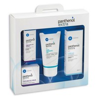 Panthenol Set - Face & Eye Cream 24h 50ml & Face & Eye Serum 30ml & Face Cleansing Gel 150ml & Extra Cream Κρέμα 100ml