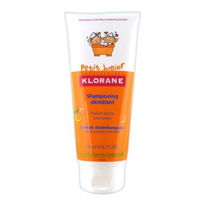 Klorane petit junior shampoo peach