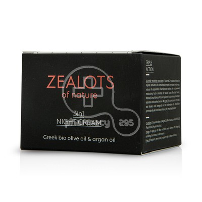 ZEALOTS OF NATURE - 3in1 Night Cream - 50ml