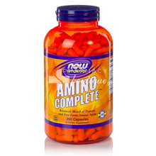 Now Sports AMINO Complete 750 mg - Αμινοξέα, 360 caps