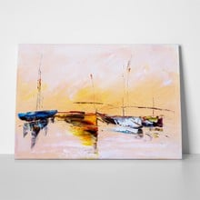 Boats oil painting 617312660 a