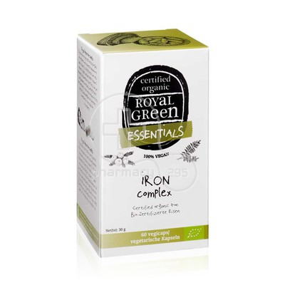 ROYAL GREEN - ESSENTIALS Iron Complex - 60caps