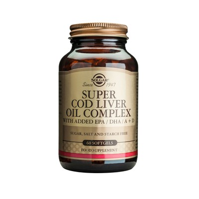 Solgar - Super Cod Liver Oil Complex - 60softgels