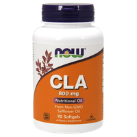 NOW CLA 800MG (CONJUGATED LINOLEIC ACID), 90 SOFTGELS