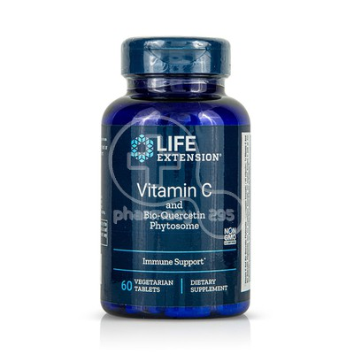 LIFE EXTENSION - Vitamin C and Bio-Quercetin Phytosome - 60tabs