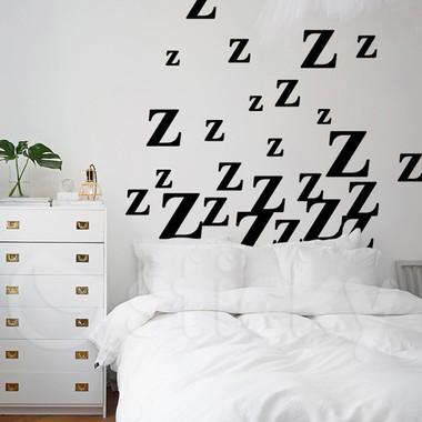 wall sticker zzz - sticky