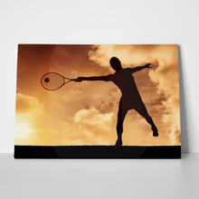 Tennis against sunset 434111872 a