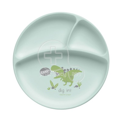 STEPHEN JOSEPH - SAFE AND SOUND Silicon Plate 0m+ (Dino)