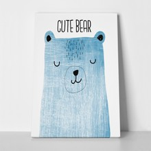 Cute bear texture illustration 682436428 a