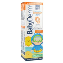 Intermed Babyderm Sunscreen Lotion SPF50 Παιδικό Αντηλιακό Γαλάκτωμα 200ml