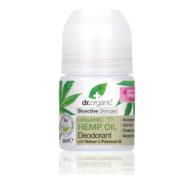 Dr.Organic - Organic Hemp Oil Deodorant - 50ml