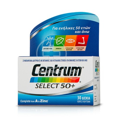 CENTRUM - Select 50+ - 30tabs