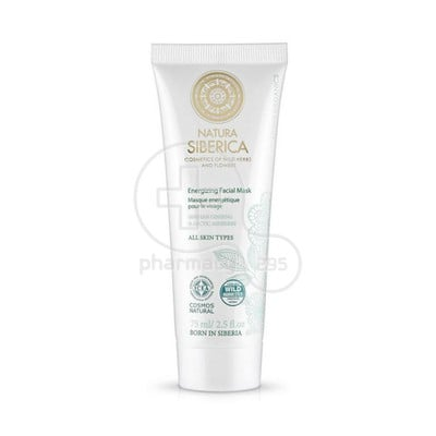 NATURA SIBERICA - Energizing Facial Mask - 75ml