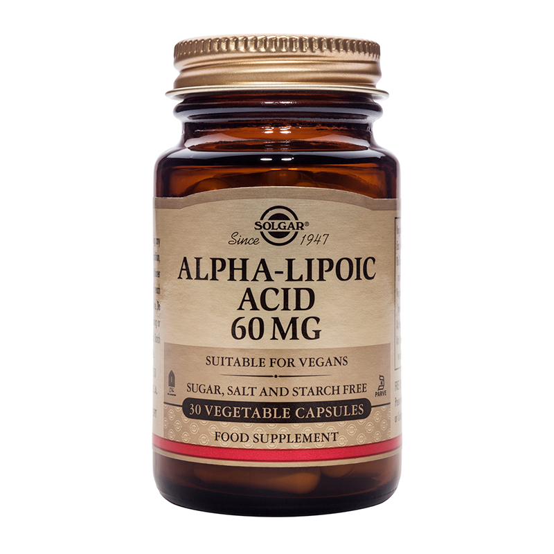 Alpha Lipoic Acid 60mg veg.caps