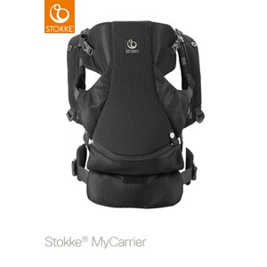 Μάρσιπος My Carrier Front & Back Black Mesh