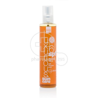 INTERMED - LUXURIOUS SUNCARE Tanning Oil SPF6 with Vitamins A+E - 200ml
