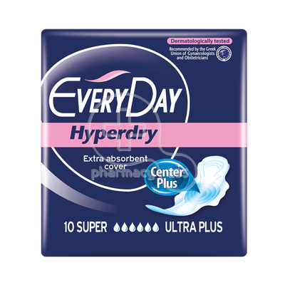 EVERYDAY - HYPERDRY Σερβιέτες Super Ultra Plus - 10τεμ.