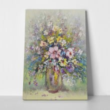 Flower painting in vase a