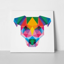 Dog pop low poly rottweiler 508600036 a
