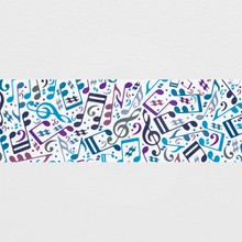 Musical notes a