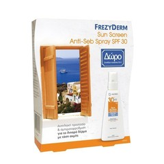 Frezyderm Sun Screen Anti-Seb Spray SPF30+ 150ml & 80ml