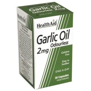 Health aid garlic oil