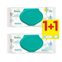 PAMPERS BABY WIPES SENSITIVE 56ΤΕΜ (PROMO 1+1)