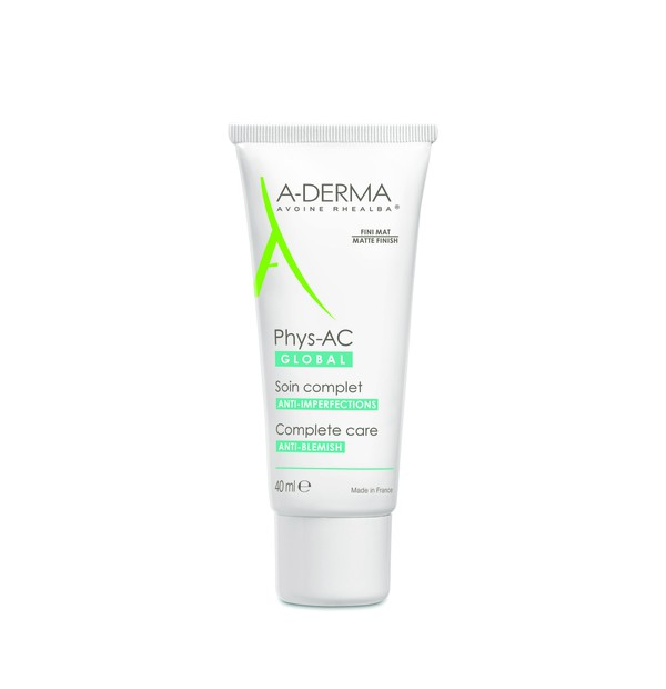 ADERMA PHYS-AC GLOBAL SOIN IMPERFECTIONS SEVERES 40ML